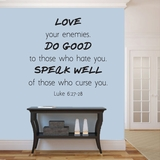 Love Your Enemies - Wall Decals