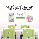 Masterpieces - Wall Decals