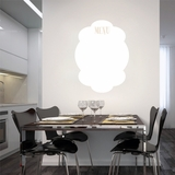 Dry Erase Menu | Wall Decals