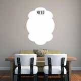 Dry Erase Menu - Wall Decals