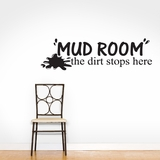 Mud Room - Wall Decals