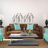 Oriental Blossom Grass - Wall Decals