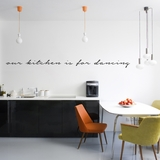 Our Kitchen Is For Dancing - Wall Decals