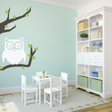 Perched Owl | Wall Decals