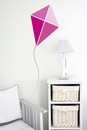 Pink Kite | Printed Wall Decals