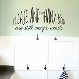 Please and Thank You - Wall Decals
