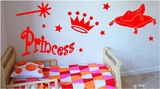 Princess Wall Decals Pack