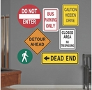 Road Signs | Printed Wall Decals