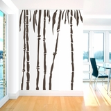 Set of Bamboo Trees - Wall Decals