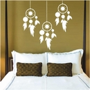 Set of Hanging Dream Catchers | Wall Decals