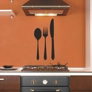 Spoon Fork Kinife | Wall Decals