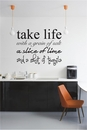 Take Life with a Grain of Salt | Wall Decals
