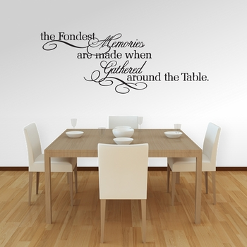 The Fondest Memories | Wall Decals