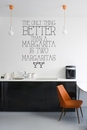 The Only Thing Better Than A Margarita Is Two Margaritas | Wall Decals
