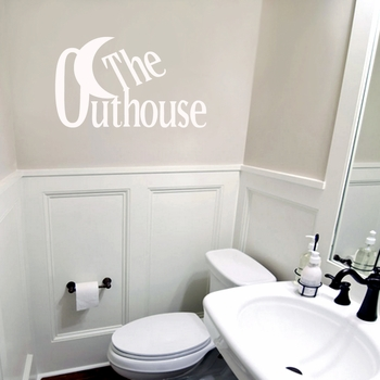 The Outhouse - Wall Decals