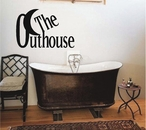 The Outhouse Wall Decals