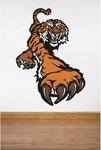Tiger School Mascot | Printed Wall Decals
