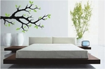 Tree Branch With Leaves | Wall Decals