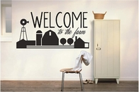 WELCOME to the farm | Wall Decals
