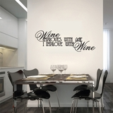 Wine Improves With Age | Wall Decals