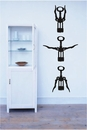 Wine Openers Set | Wall Decals