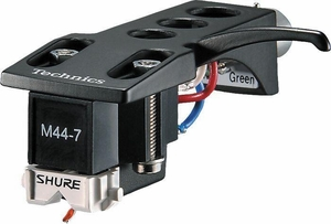 Shure M44-7H Cartridge with Technics Headshell