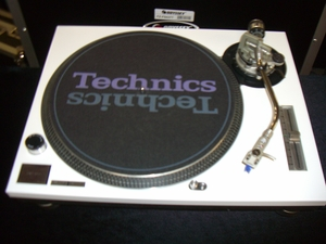 Technics White Faceplate Cover for  SL-1200 / 1210 MK2 Turntable