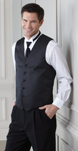 5 Button Mens  (Marcata)Textured Vest