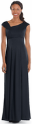 Kristen Dress<br>Cap and Accented Pleated Sleeve