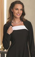 Crepe Shrug- Black Only Available