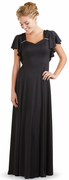 Rufflle Sleeve <br>Alayna Dress