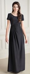 "Side Pleated ""Tara"" Dress"
