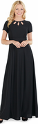 Triple Keyhole Neckline<br>Valerie Dress