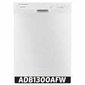 Amana Front Control Dishwasher in White Model #ADB1300AFW