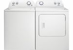PAIR COMBO AMANA TOP LOAD WASHER NTW4605EW AND AMANA  ELECTRIC DRYER NED4655EW