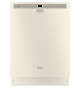 Biscuit Dishwasher Whirlpool Gold Dishwasher with TargetClean Option WDF760SADT