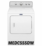 MAYTAG DRYER MEDC555DW CENTENNIAL DRYER WITH 10-YEAR LIMITED PARTS WARRANTY - 7.0 CU. FT.