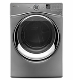 Front Load Whirlpool 4.5 cu. ft. Duet Steam Front Load Washer with FanFresh Option with Dynamic Venting Technology WFW95HEDC