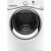 Front Load Whirlpool 4.5 cu. ft. Duet Steam Front Load Washer with FanFresh  Option with Dynamic Venting Technology WFW95HEDW
