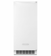 Ice Maker White KitchenAid KUIS15NNZW 15'' Automatic Ice Maker