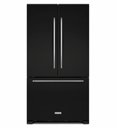 Kitchenaid Counter-Depth French Door Refrigerator 20 cu. ft. 36-Inch Width with Interior Dispense KRFC300EBL