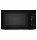 KitchenAid Counter Top Microwave 1200-Watt Countertop Microwave Oven Black  KCMS1655BBL