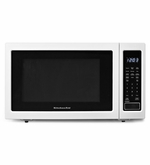 KitchenAid Counter Top Microwave 1200-Watt Countertop Microwave Oven White KCMS1655BWH