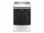 Maytag 9.2 Cu. Ft. Capacity Steam Dryer with Moisture Sensing MEDB955FW