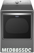 Maytag 8.8 cu. ft. Extra-Large Capacity Dryer with Advanced Moisture Sensing MEDB855DC