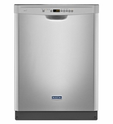 Maytag Front Control Dishwasher in Fingerprint Resistant Stainless Steel with Stainless Steel Tub Model #MDB4949SDZ