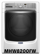 MAYTAG FRONT LOAD WASHER WITH OPTIMAL DOSE DISPENSER AND POWERWASH SYSTEM � 4.5 CU. FT. MODEL #MHW8200FW ENERGY STAR Qualified