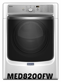 MAYTAG 7.4 CU. FT STEAM DRYER WITH REFRESH CYCLE AND POWERDRY SYSTEM MED8200FW