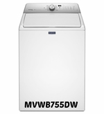 MAYTAG TOP LOAD WASHER WITH STEAM ENHANCED CYCLES EXTRA-LARGE CAPACITY MVWB755DW 4.8 CU. FT. ENERGY STAR
