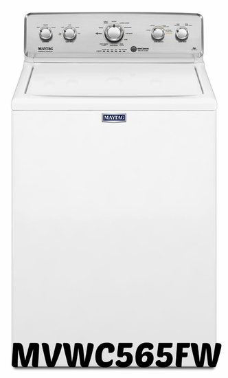 Maytag 4. 2 cu ft Washer in White with Deep Water Wash and PowerWash MVWC565FW